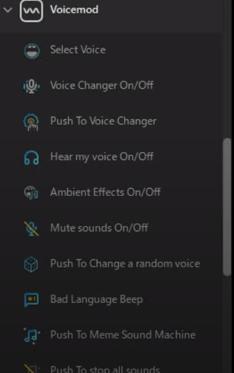 ライブ配信効果音・BGM Voicemod ・ ボイスチェンジャーの設定